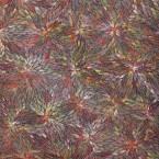 Artist: Bernadine Kemarre Title: 'Leaves' Size: 92cm x 68cm Price: $880 (AUD) Cat No: M0121