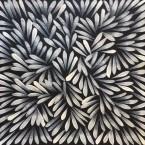 "Artist: Jacinta Numina Title: ""Bush Medicine Leaves""  Size: 30cm x 40cm Price: $190 (AUD)  Cat No: S0484"
