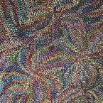 """Artist: Jennifer Purvis Title: """"Bush Flowers"""" Materials: Acrylic On Canvas Size: 95cm x 70cm Price: $ 660 Aud Unstretched Cat No: M0148"""