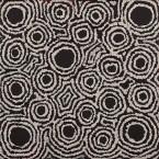 Artist: Kylie Napangardi Williams Title: Yarla Jukurrpa (Bush Potato Dreaming) Size: 30 x 30 cm Price: $150.00 (AUD) Cat No: S0470