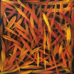"Artist: Louise Numina Title: ""Spinifex Grass"" Size: 30cm x 30cm Price: $110 (AUD)  Cat No: S0466"