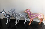 Nicely Dotted Laser Cut Dogs