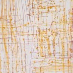 """Artist: Ian Waldron Title: """"Yellow Wood"""" Size: 120cm x 58cm Stretched Price: $1,200 (AUD) was $2,200 Cat No: M0022"""