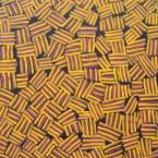 "ARTIST: GLORIA PETYARRE TITLE: ""Mountain Devil Lizard"" SIZE: 89 cm x 122 cm PRICE: $1,660 (Aus) cat no: M0025"