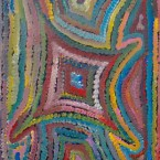 "Artist: Jedda Purvis Title: ""Bush Yam"" Size: 30cm x 45cm Price: $190 (AUD) Cat No: S0020"