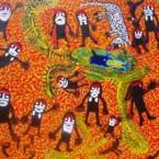 """ARTIST:MARY McLEAN  TITLE:""""Springtime"""" SIZE: 92 cm x 122 cm PRICE:$5,500 (Aud) cat no: M0074"""