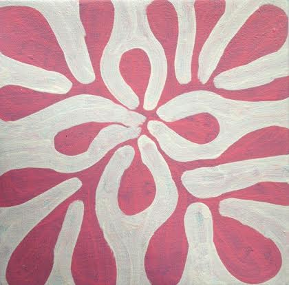 ARTIST:  Mitjili Napurrula TITLE:   Watiya Tjuta (trees) Size:  30cm x 30cm Price:  $145  (Aud) cat no: S0184