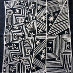 Chain Stitched Rug (Pure Wool)  Artist: Whiskey Size: 91cm x 91cm Price: $440 (AUD)  Cat No: M0112